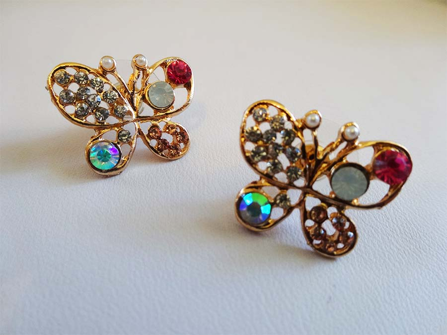 Butterfly Earrings E031