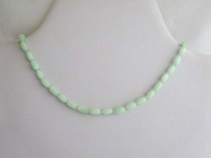 Green Cats Eye Necklace