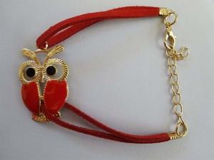 Red Owl Bracelet