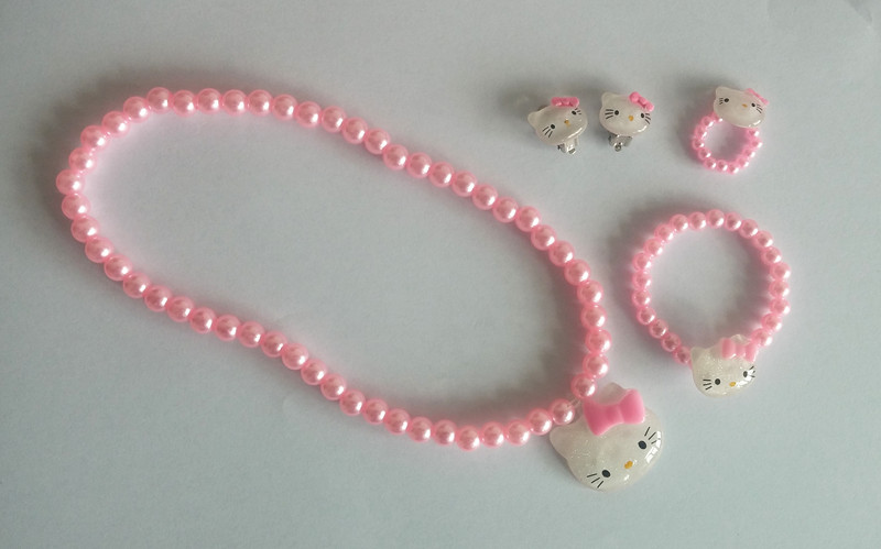 Pink Pearl Hello Kitty Set