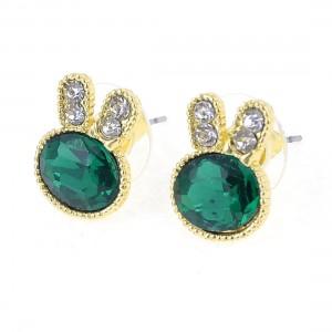 green-rabbit-earrings