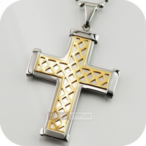 stainless_steel_gold_necklace_cross