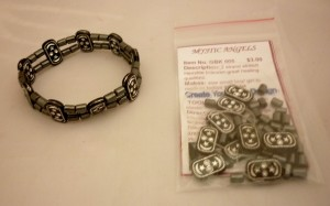 GBK005 Hematite_Two_Strand_Bracelet_Kit