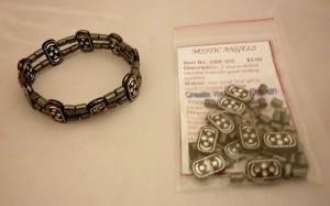 GBK005 Hematite_Two_Strand_Bracelet_Kit