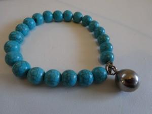 turquoise-ball_charm_bracelet
