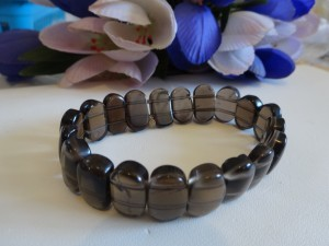 smoky_quartz_stretch_bracelet