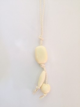 white rope necklace1