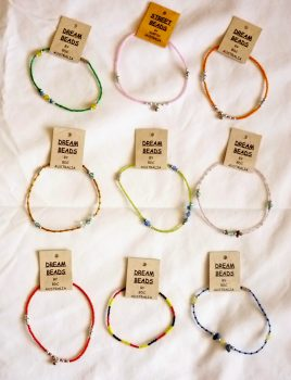 Coloured anklets