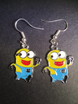Minions_Earrings