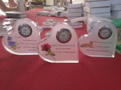 clocks all