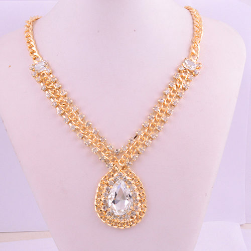 14k-gold-filled-raindrop-white-topaz-gems-necklace
