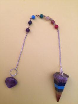 bonded chakra pendulum